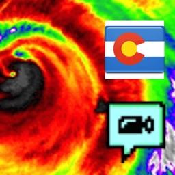Colorado NOAA Radar with Traffic Camera 3D