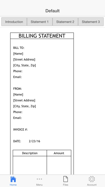 Billing Statement screenshot-4