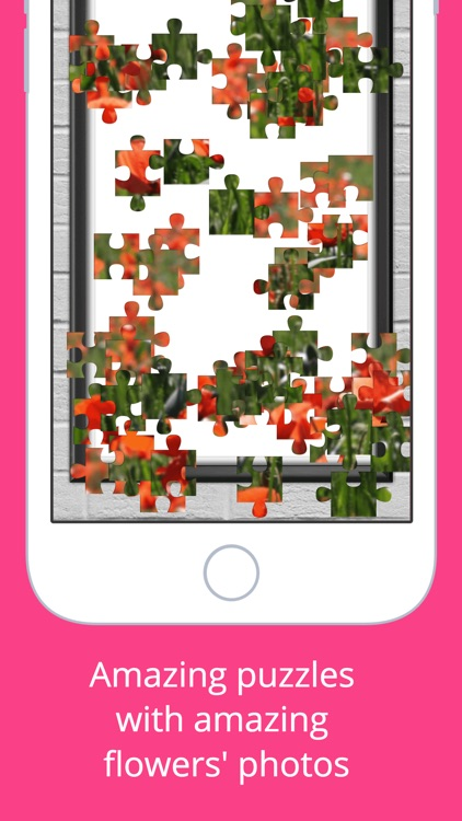 Flowers Puzzle - Play with your favorite flowers screenshot-3
