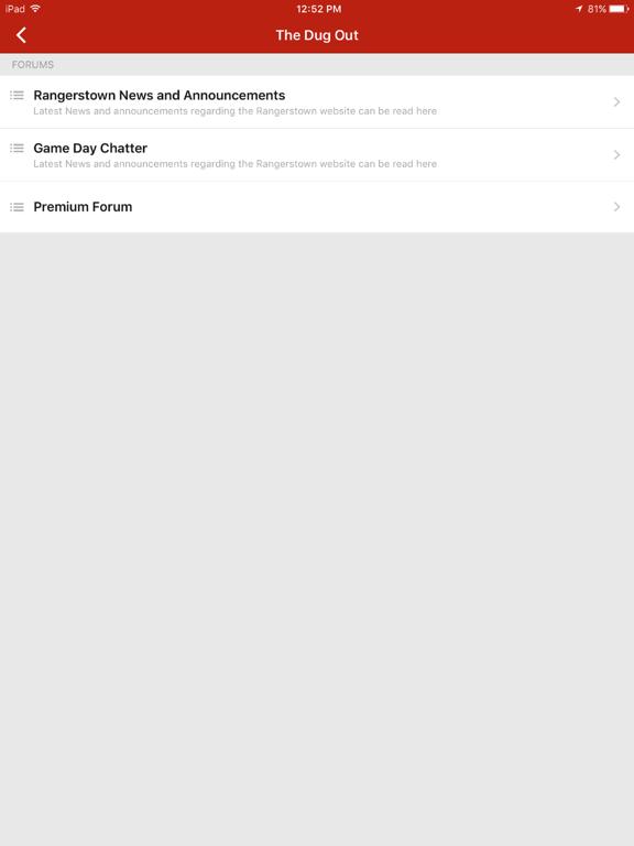 Baseball Forums screenshot 3