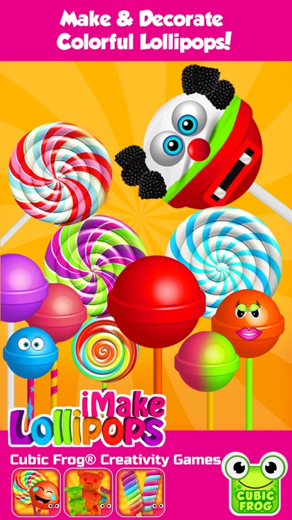 iMake Lollipops-Candy Making Kitchen Games screenshot-0
