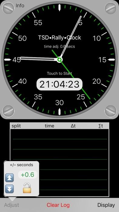 Screenshot for TSD Rally Clock in Kazakhstan App Store