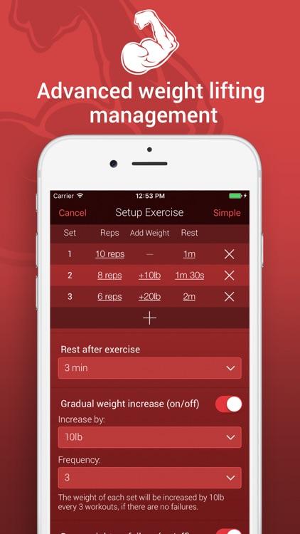 GrowBIG Workout Tracker screenshot-3