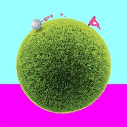 Rolling Golf Ball