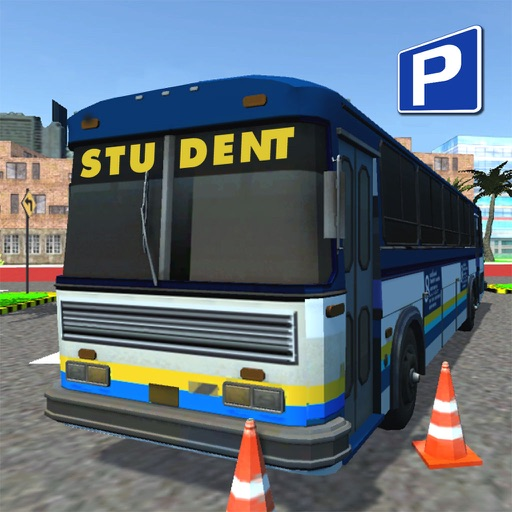 Bus Driving School 2017 - VR Simulator Edition icon
