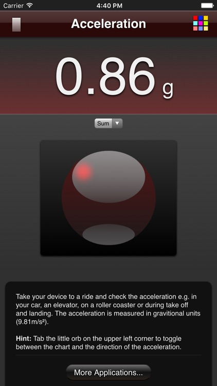 Acceleration screenshot-1