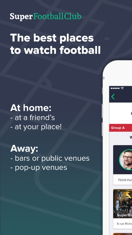 Super Football Club - where to watch the game