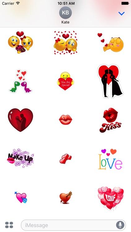 Cute Love Sticker for iMessage screenshot-3