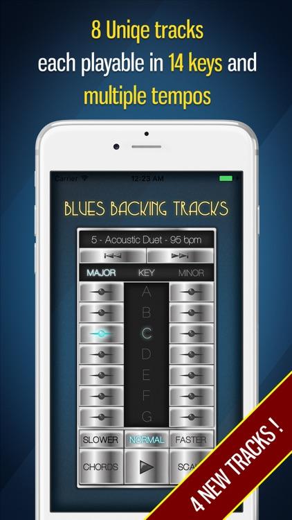 Blues Backing Tracks screenshot-0