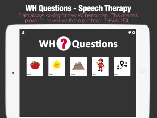 WH Questions Preschool Speech and Language Therapy screenshot 6
