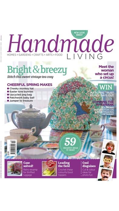 Handmade Living Magazine – homes, gardens, crafts Screenshot