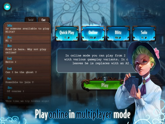 Screenshot #3 for Mysterium: A Psychic Clue Game