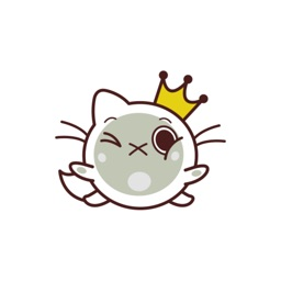 Fab Cat stickers by Domz Agsaway