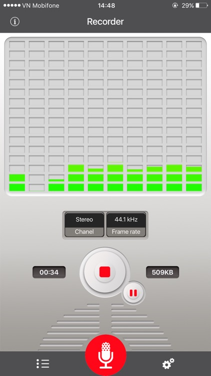 Voice Recorder for dropbox screenshot-0