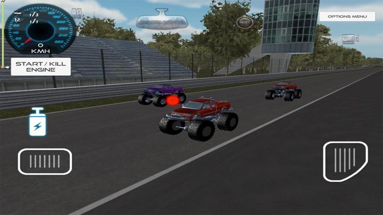 3d Monster Truck Race 2017 screenshot-3