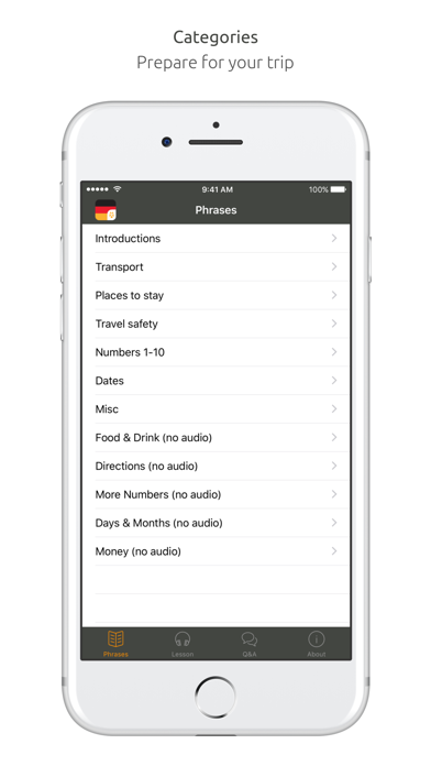 German Language Guide & Audio - World Nomads screenshot one