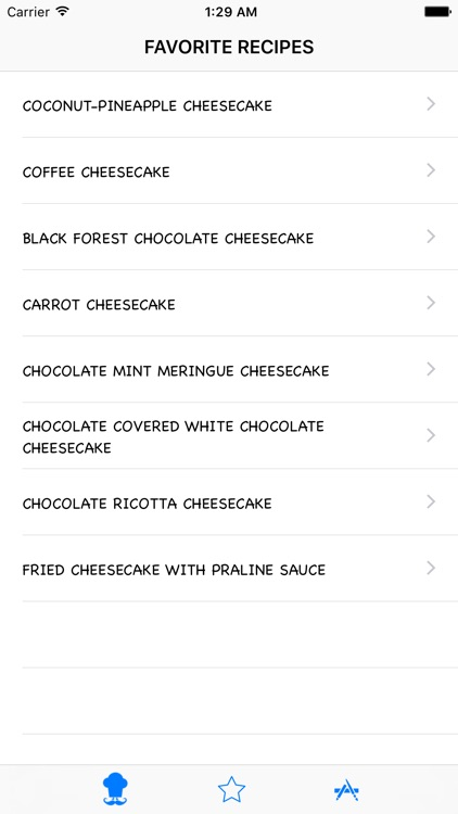 Desserts Recipes HD screenshot-3
