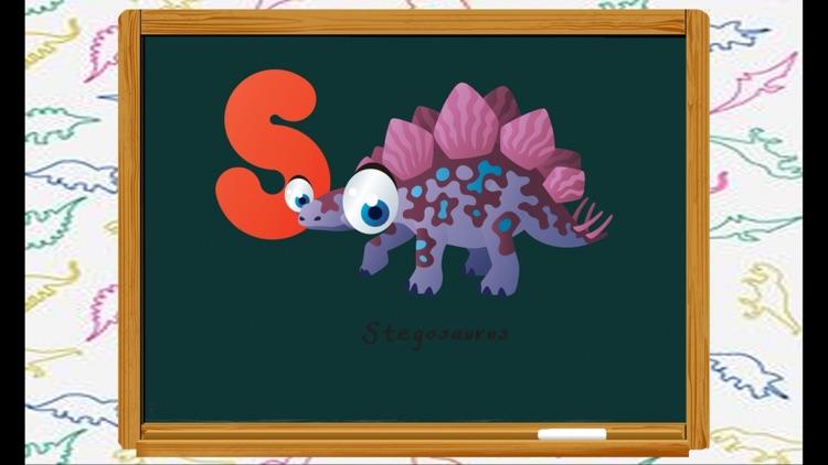 ABC Kids Games Words - Dinosaur Words Writing