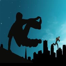 Parkor Stunt Man