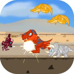 Robot Fight Dinosaurs