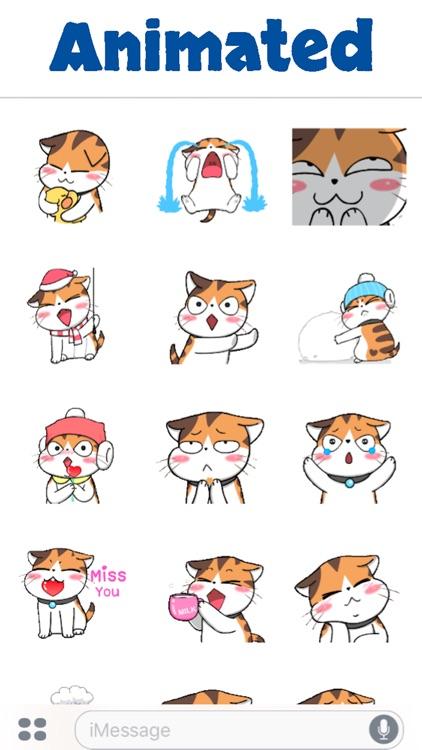 Cute Meow Animated screenshot-4