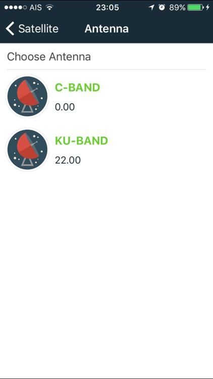 sat pointer :  dish aligner + satellite finder screenshot-3