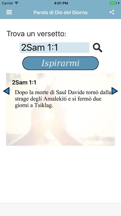 Parola di Dio del Giorno Bibbia Nuova Diodati screenshot-3