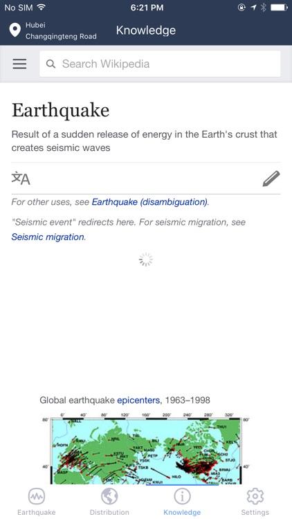 Earthquake Info -Earthquakes Map, Alert & News
