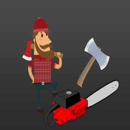 Lumberjack : Axes, Chopping down Forest Stickers