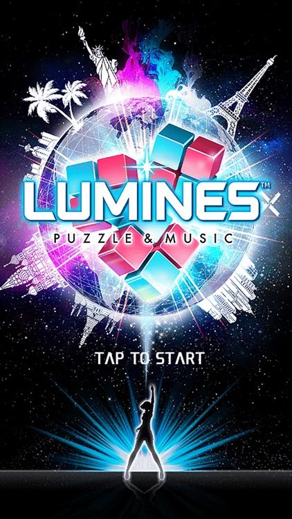 LUMINES PUZZLE AND MUSIC screenshot-0