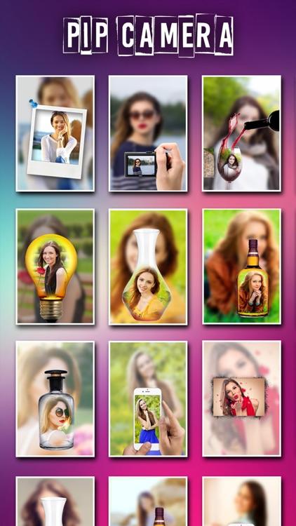 PIP Camera Photo Editor 2.0 screenshot-3
