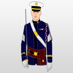 Military Stickers : Army, Air Force, Marines