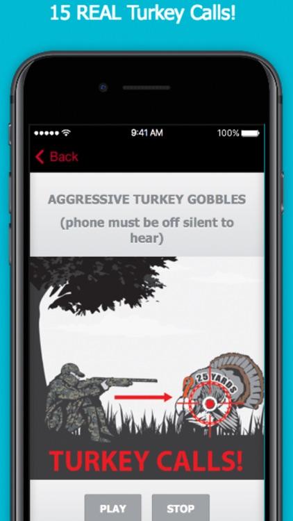 Turkey Calls App for Hunting screenshot-0