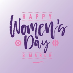 Go Girl! Happy Women's Day for iMessage Stickers