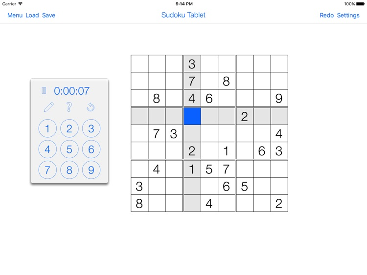 Sudoku Tablet screenshot-1