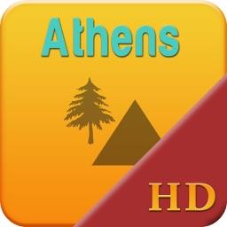 Athens Offline Map Travel Explorer