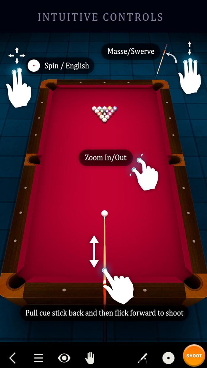 Pool Break Lite 3D Billiards 8 Ball Snooker Carrom Screenshot