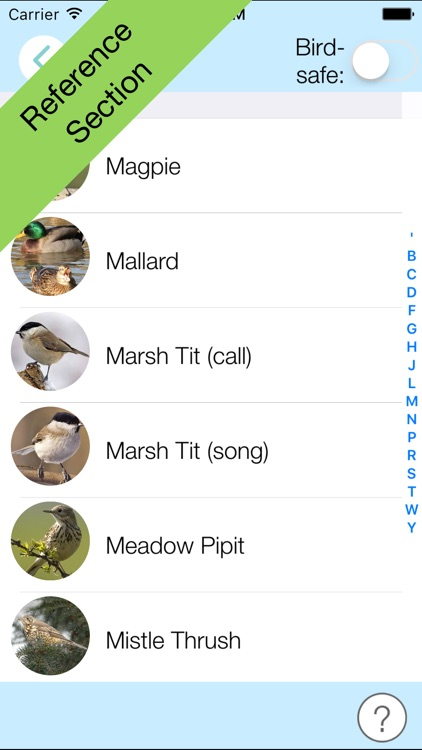 ChirpOMatic UK, Automatic Bird Song Recognition v2 screenshot-3
