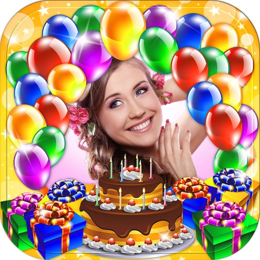 Happy Birthday Photo Frame & Greeting Card.s Maker App