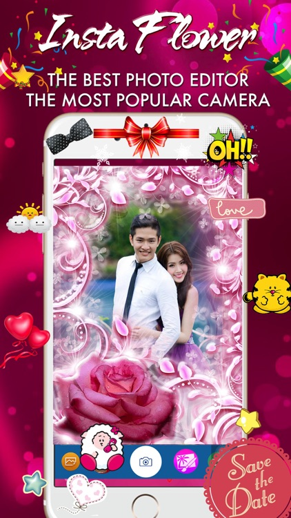 InstaFlower Photo Frame - Wonder Photo