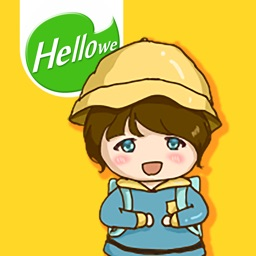 Hellowe Stickers: Cherry Flower