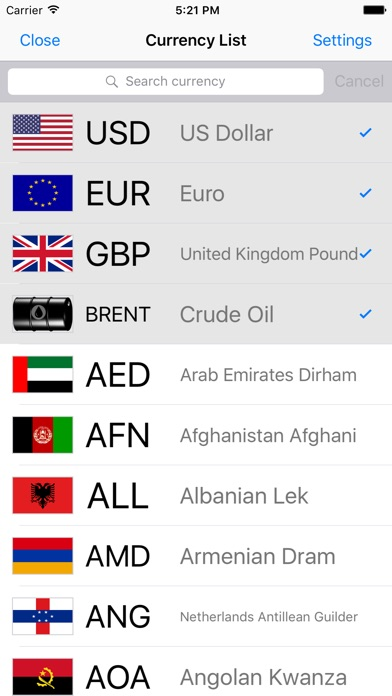 Screenshot 6 For Currency Money Converter