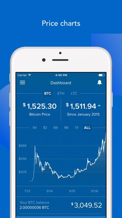 Coinbase - Bitcoin & Ethereum Wallet