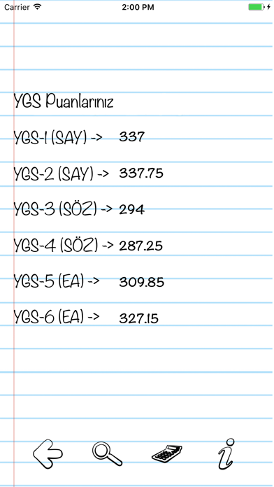 YGS LYS Puan Hesaplama screenshot four