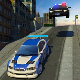 Police Car Chase Bandits: Escape Robbery Mission