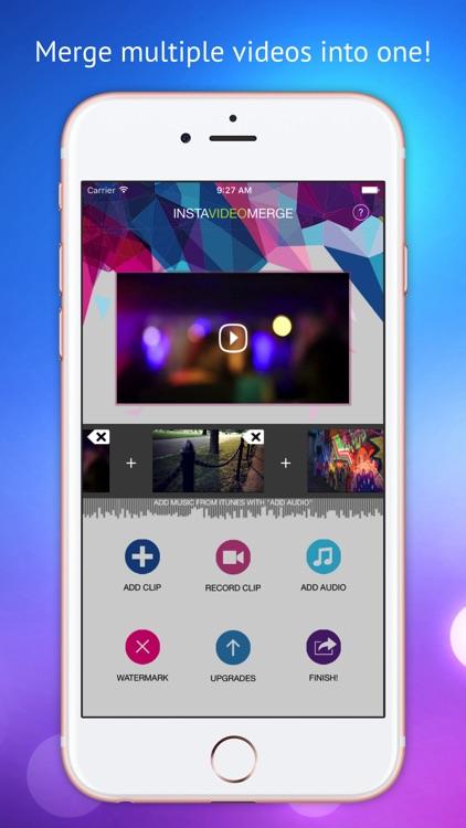 Video Merger PRO - Combine & merge video montage