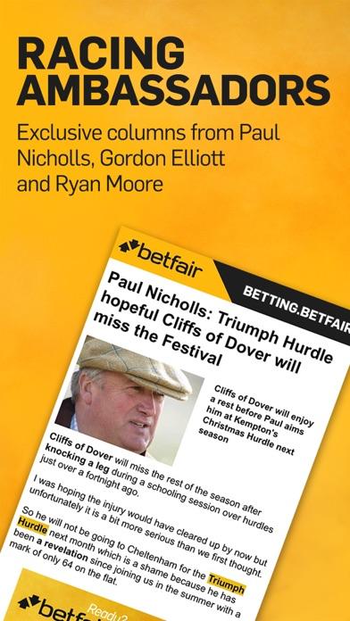 Betting.Betfair - Sports News, Odds & Tips screenshot one