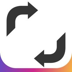 \u200eリスタグラム インスタリポスト、共有/無断転載保護アプリ