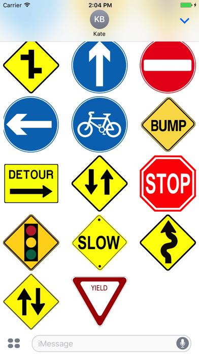 Street Sign Stickers screenshot three
