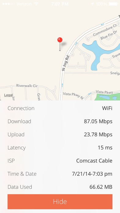 Quick Speed Test - WiFi & Mobile Download Test screenshot four
